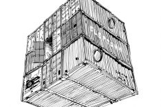 CLEPTOMANICX | Port Series | Container