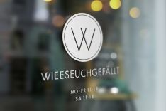 WIEESEUCHGEFÄLLT - fashion & more store | Logo design
