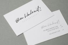 BEN WADEWITZ | CORPORATE DESIGN