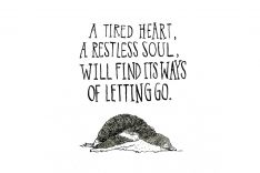 SPRING WILL COME | letting go